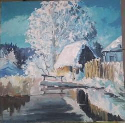 Picturi de iarna Iernile bunicilor