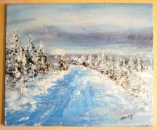 Picturi de iarna Splendoarea iernii