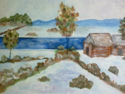 Picturi de iarna Inceput de Iarna