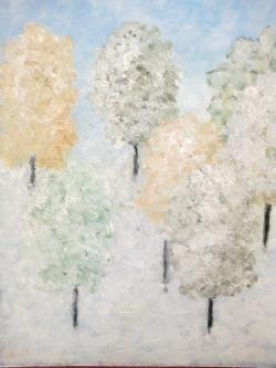 Picturi de iarna Padurea de Argint
