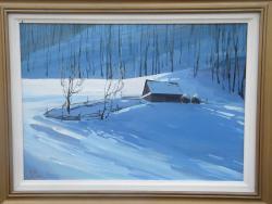 Picturi de iarna Liniste in iarna
