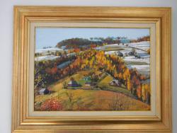 Picturi de iarna Sat la munte