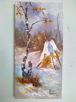 Picturi de iarna iarna 7