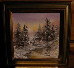 Picturi de iarna Brazii iernii mele