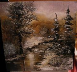 Picturi de iarna Spre iarna