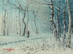 Picturi de iarna Amintirea iernii
