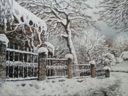 Picturi de iarna hibernala - 2016