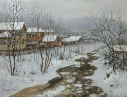 Picturi de iarna MALUL  TECUCELULUI 2017