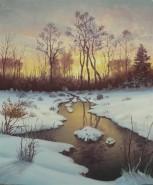 Picturi de iarna Prima zapada