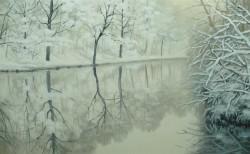 Picturi de iarna Zapada proaspata