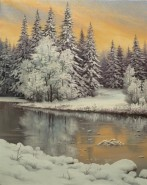 Picturi de iarna Zapada proaspata 2