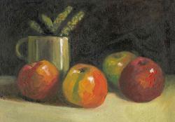 alte Picturi busuioc in cana si mere