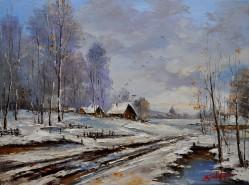 Picturi de iarna Iarna-5