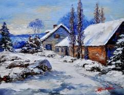 Picturi de iarna Iarna-7