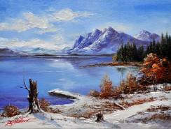 Picturi de iarna Iarna-8