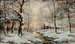Picturi de iarna Iarna- 10
