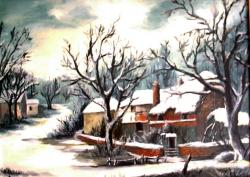 Picturi de iarna Satul meu