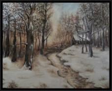 Picturi de iarna Winter senses