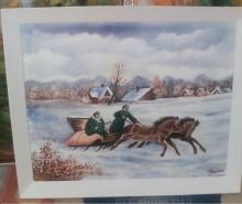 Picturi de iarna Iarna ruseasca