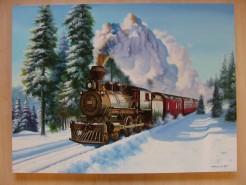 Picturi de iarna Mocanita