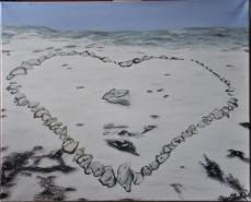 Picturi de iarna Inima de piatra