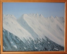 Picturi de iarna Munti