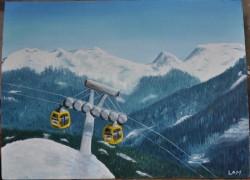 Picturi de iarna Telegondolele