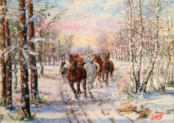 Picturi de iarna Libertate