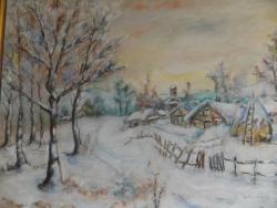 Picturi de iarna Peisaj de iarna (L.D.)
