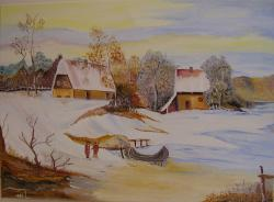 Picturi de iarna ZI DE IARNA 2