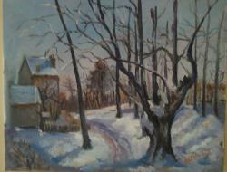 Picturi de iarna Amintiri înghețate