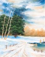 Picturi de iarna Iarna frumoasa