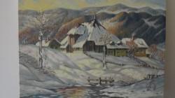 Picturi de iarna La cabana