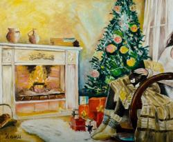 Picturi de iarna Nostalgie de iarna