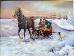 Picturi de iarna Saniuta