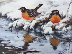 Picturi de iarna Culoare iarna