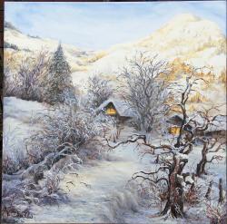 Picturi de iarna Drumul spre casa 2