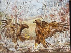 Picturi de iarna Rivalitate