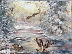 Picturi de iarna Vanatoarea