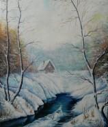 Picturi de iarna O iarna