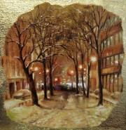 Picturi de iarna Avenue park