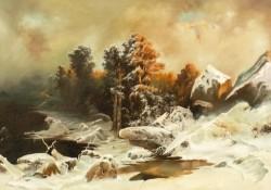 Picturi de iarna Frozen winter