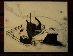 Picturi de iarna Capite in iarna