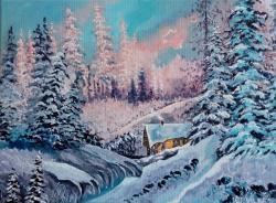 Picturi de iarna In mijlocul iernii