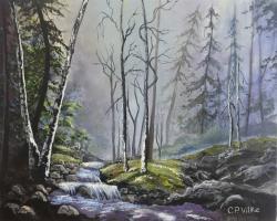 Picturi de iarna Sfarsit de iarna