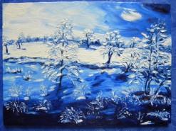 Picturi de iarna Ger cumplit