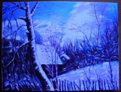 Picturi de iarna Iarna, intuneric sau lumina