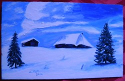 Picturi de iarna Iarna 2012