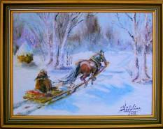Picturi de iarna Iarna ...