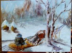 Picturi de iarna Iarna ii